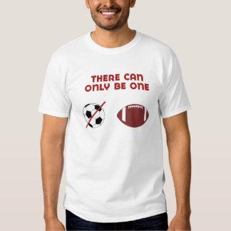Es kann ein nur geben - Fußball Hemd