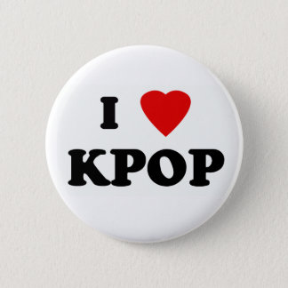 Es plattiert Kpop Runder Button 5,1 Cm