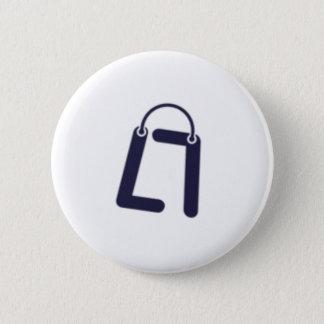 ES plattiert LOYCUS Runder Button 5,7 Cm