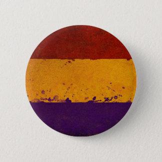 es plattiert neu veröffentlicht runder button 5,7 cm