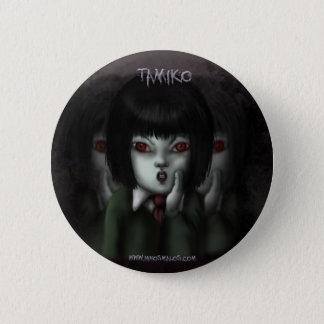 Es plattiert Tamiko Runder Button 5,7 Cm