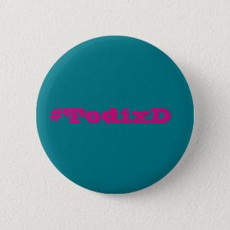 es plattiert TodixD Runder Button 5,1 Cm