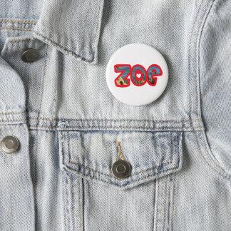Es plattiert Zoe Runder Button 5,1 Cm