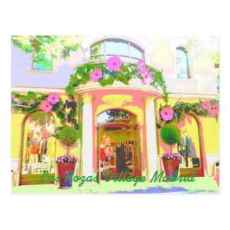 Es reicht Versace in Rozas Village von Madrid Postkarte