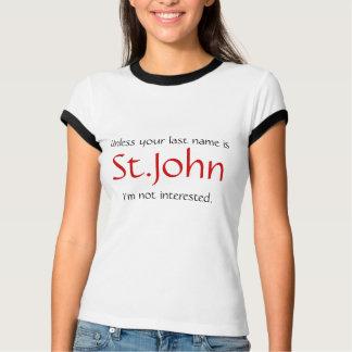 Es sei denn Ihre Nachname… sind T-Shirt