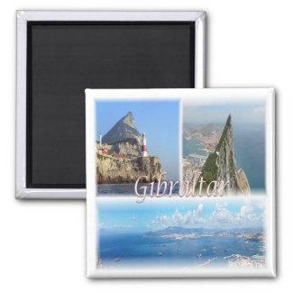 ES * Spanien - Gibraltar Quadratischer Magnet