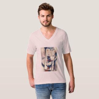 Es trägt, komfortabel und schön T-Shirt