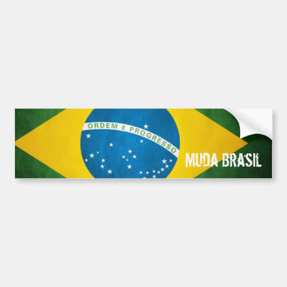 Es verändert Brasilien Autoaufkleber