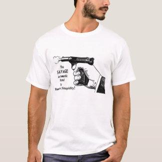 Es verbannt Dummheit T-Shirt