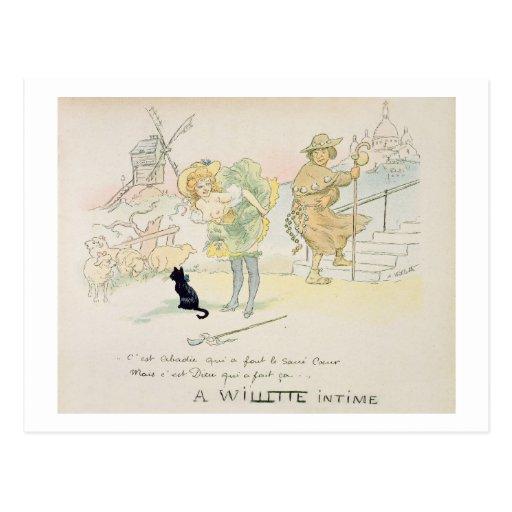 'Es war Abadie, das das Sacre-Coeur machte, aber G Postkarten