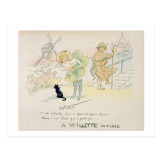 'Es war Abadie, das das Sacre-Coeur machte, aber Postkarte