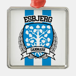 Esbjerg Silbernes Ornament
