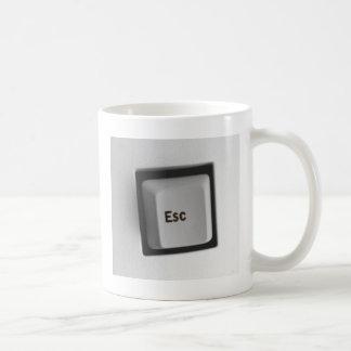 ESC-Taste- ESC Kaffeetasse