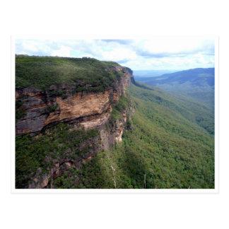 Escarpmentblauberge Postkarte