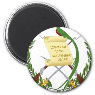 Escudo de Armas de Guatemala - Wappen Runder Magnet 5,7 Cm