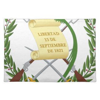 Escudo de Armas de Guatemala - Wappen Stofftischset