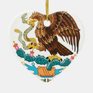 Escudo Nacional de México - mexikanisches Emblem Keramik Ornament