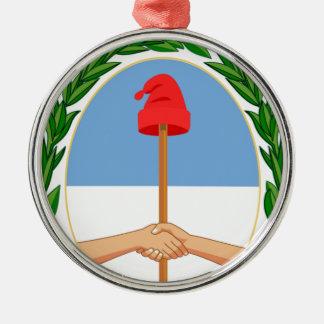 Escudode Argentinien - Wappen von Argentinien Silbernes Ornament