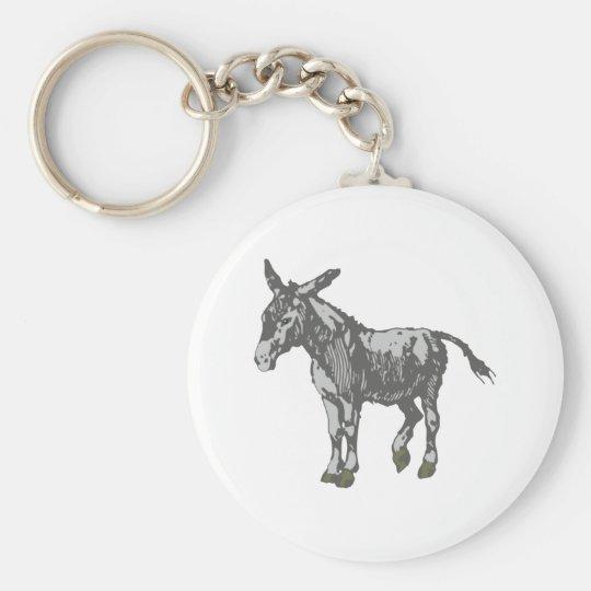 Esel donkey schlüsselanhänger