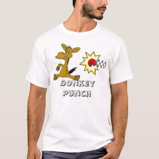 Esel-Durchschlag T-Shirt