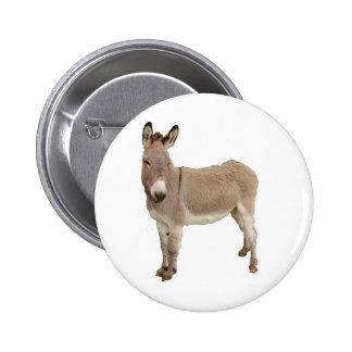 Esel-Fotografie-Entwurf Runder Button 5,1 Cm