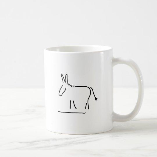 Esel Kaffeetasse