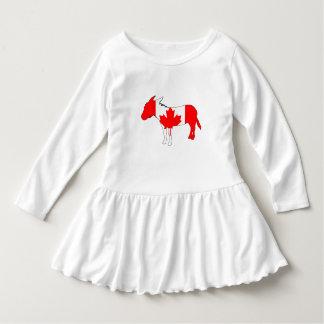 Esel Kanada Kleid