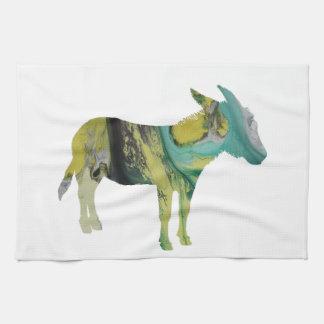 Esel-Kunst Handtuch
