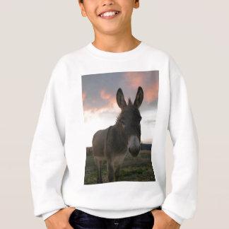 Esel-Kunst Sweatshirt