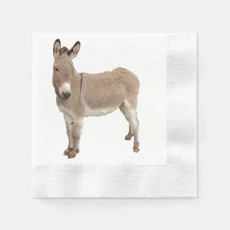 Esel-Malerei-Entwurf Serviette