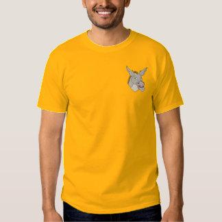 Esel-Maultier Besticktes T-Shirt
