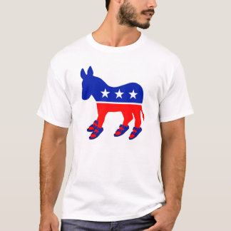 Esel mit Birks T-Shirt