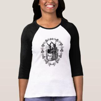 Esel-Paar-Vintage schrullige Illustration Tshirt