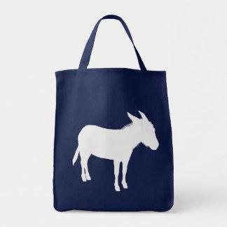 Esel-Silhouette-Tasche Tragetasche