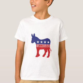 Esel Tennessees Demokrat T-Shirt