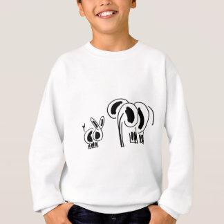 Esel- und Elefantfreunde Sweatshirt