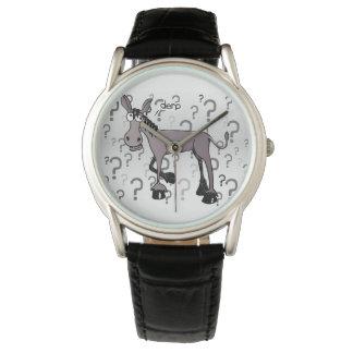 Eselbefragung derp armbanduhr