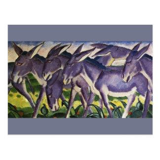 Eselfries Postkarte