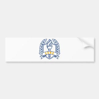 ESHS Ehren, Gelehrter, Symbol Autoaufkleber