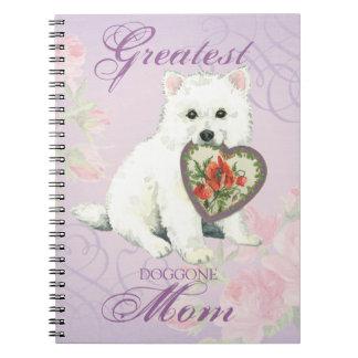 Eskie Herz-Mamma Notizblock
