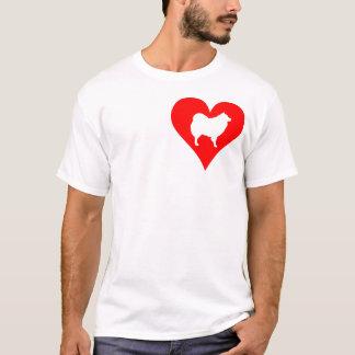 Eskie Liebe-Shirt T-Shirt