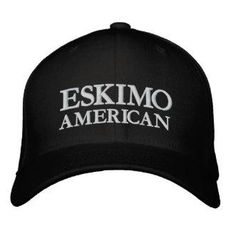 ESKIMO, AMERIKANISCH BESTICKTES CAP