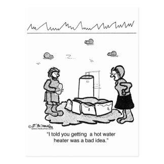 Eskimos sollten einen Boiler nicht installieren Postkarte