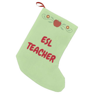 ESL-Lehrer-WeihnachtsStrumpf Kleiner Weihnachtsstrumpf