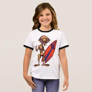 Eson von richten Stern-SurferAnime aus Ringer T-Shirt