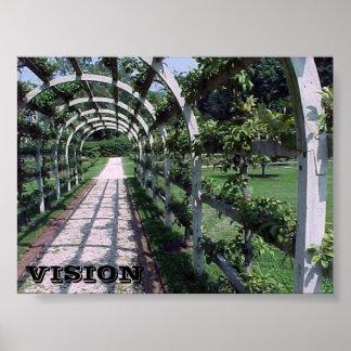 Espalier Apfelbaum - Vision Poster