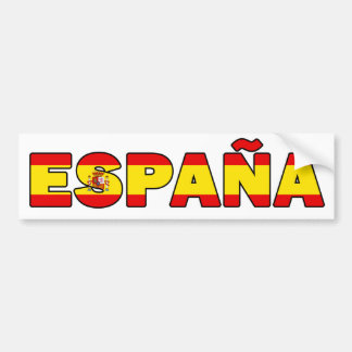 España Autoaufkleber
