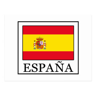 España Postkarte