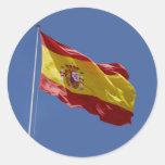 Espana Runde Sticker