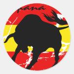 Espana Runder Sticker
